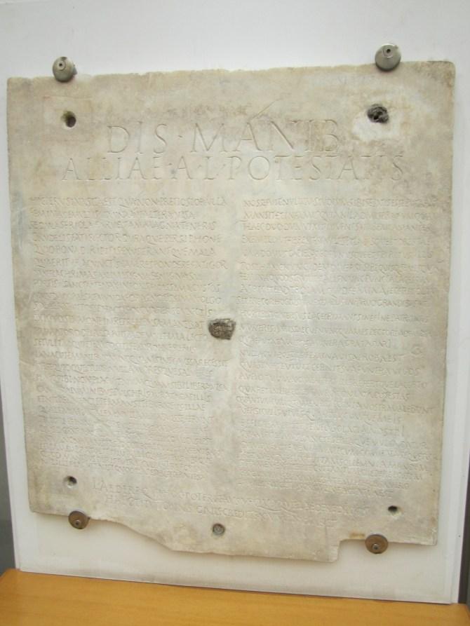 A Roman poem