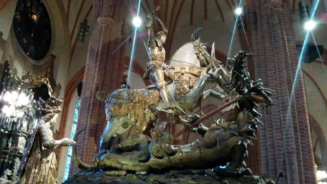 Saint George in the Stockholm Cathedral
