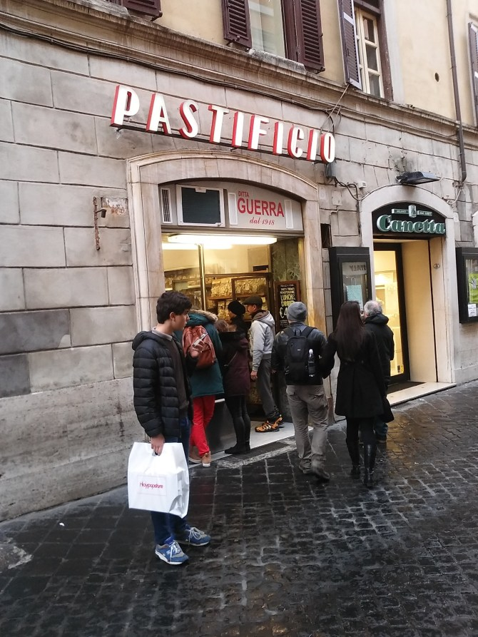 An amazing pasta place near the Piazza di Spagna. Highly recommended!