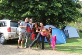 My co-travellers Michelle, Andrea, Lyndon & Pilar !