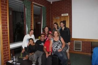 Great times with Tassie locals Kim, Justin & Jude