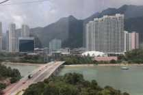 View from cable car @ Lantau island