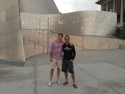 Dan & me @ Walt Disney Concert Hall