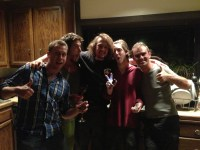 Crazy night with my travelbuddy Chris & my hosts Lucas, Wolfie & Nick