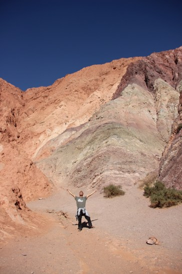 The Seven coloured mountain of Pumamarca