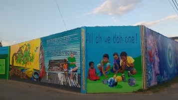 'All of us are one'. Belize is fiercely proud of it's inclusivity and tolerance