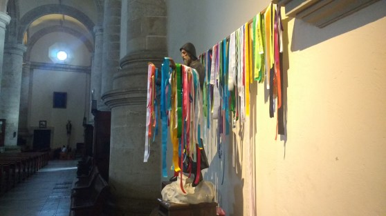 Saint with prayer ribbons, Merida