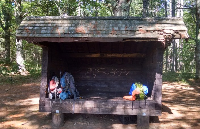 Dawley Pond Shelter front