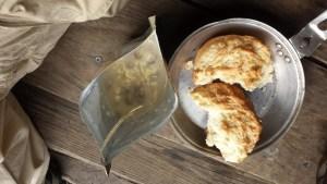 Camp Biscuit and Beef stroganoff