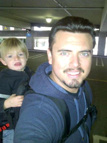 Backpacking Dad. Still.