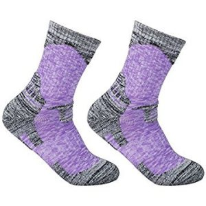 Women's 2 Pack Antiskid Wicking Cotton Socks
