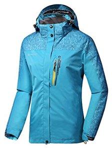 Women's Hooded Softshell Raincoat Waterproof Jacket