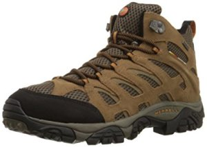 Merrell Men's Moab Mid Waterproof Hiking Boot