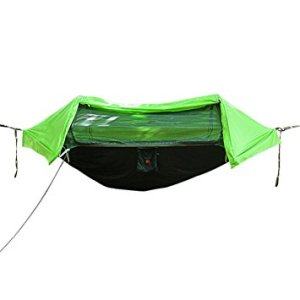Uboway Camping Hammock with Mosquito Net and Rain Cover