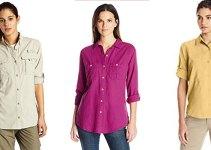 best lightweight long sleeve hiking shirts for women