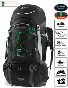 TERRA PEAK Adjustable Hiking Backpack 65L review
