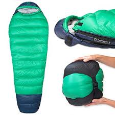 Paria outdoors 0 Degree mummy sleeping bag review