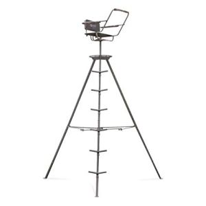 Guide Gear 12' Tripod Deer Stand review (Best Tripod Stand for Bow and Deer Hunting)