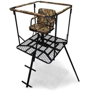 Sniper 16' Outlaw Tripod Swivel Stand review (Best Tripod Stand for Bow and Deer Hunting)