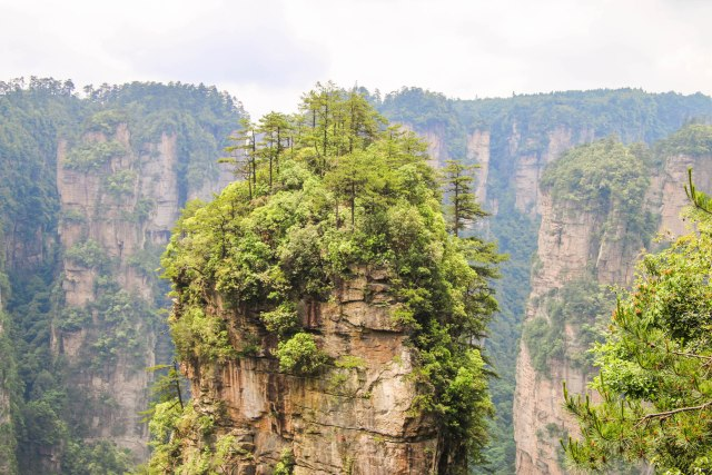 Exploring Avatar Mountains in Zhangjiajie, China