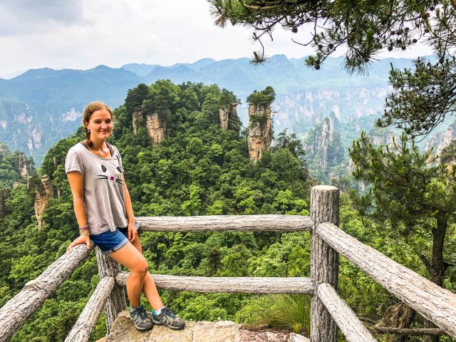 Backpacking Solo Around Asia: Visiting Zhangjiajie National Forest Park
