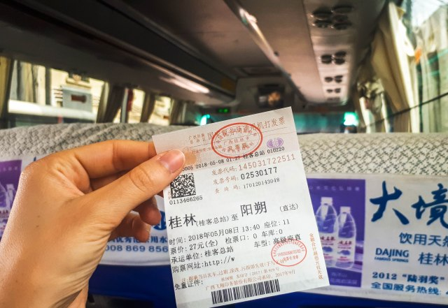 China Survival Guide: Travelling in China by Bus
