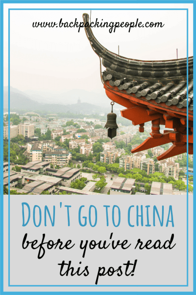 THE ULTIMATE CHINA SURVIVAL GUIDE: Essential Tips for Visiting China