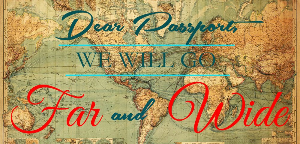 Letter to My Passport