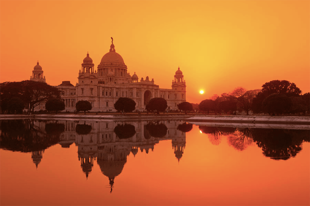 Victoria Memorial, Calcutta, India. Photography by Adrian Pope