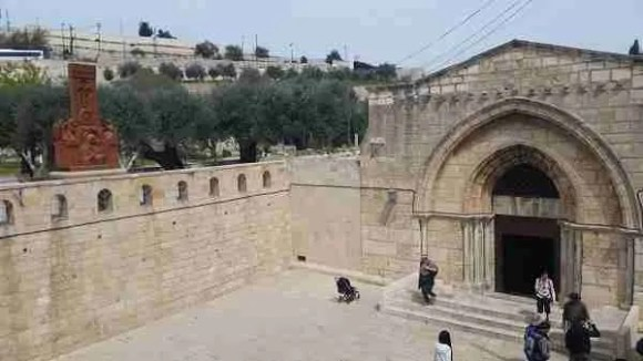 Tomb of Mary on Mount of Olives