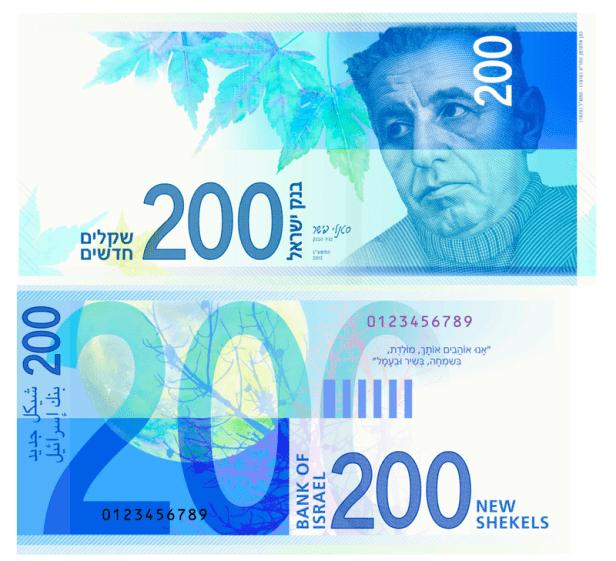 Money in Israel - 200 ILS