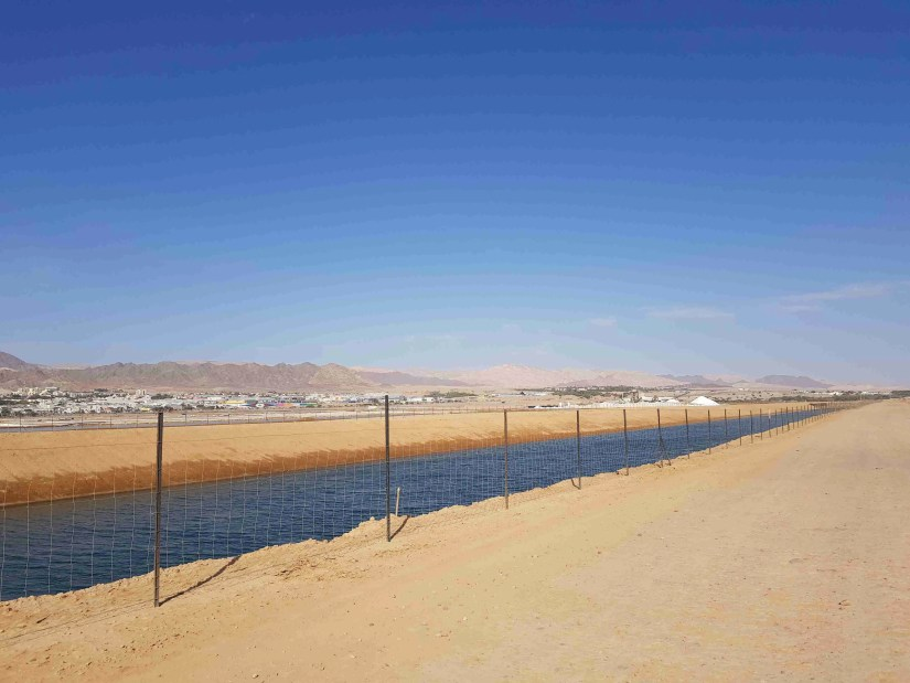 The Kinet Channel and the City of Eilat