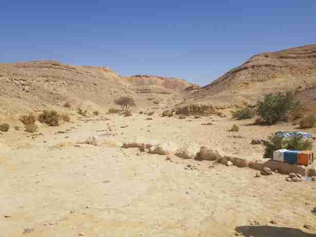 Camping in Israel - near Eilat