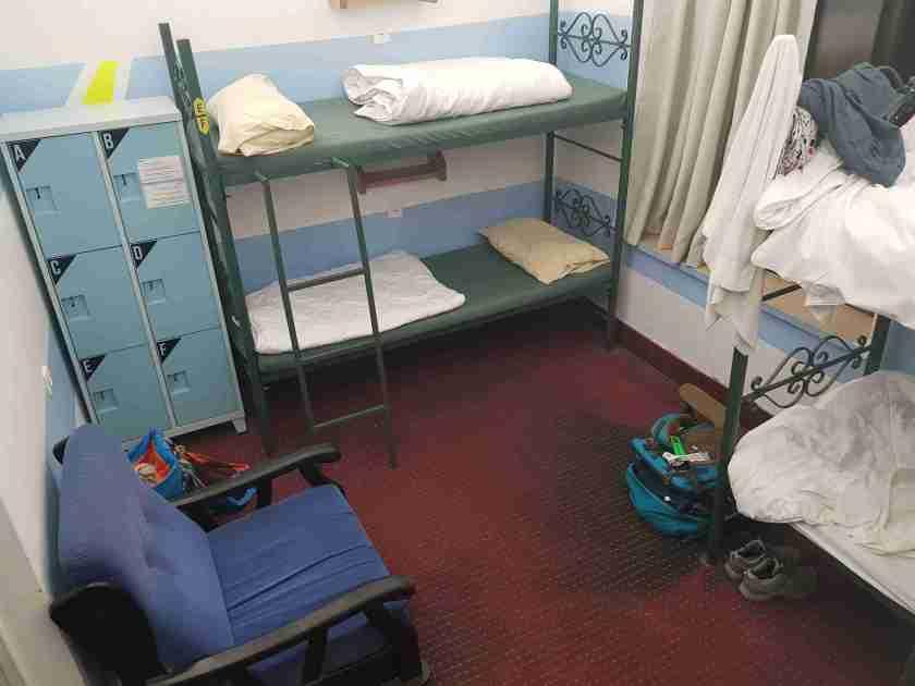 Dormitory at Jerusalem Hostel
