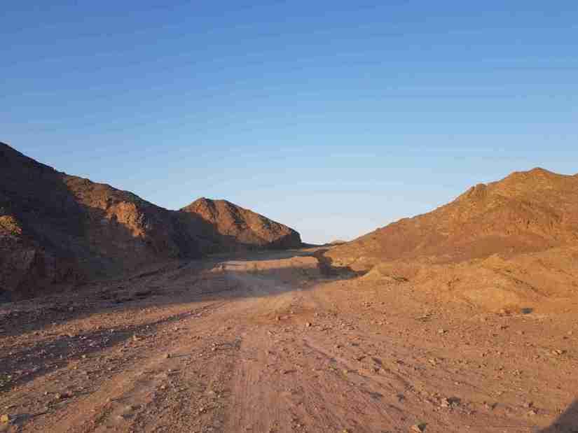 The White Mountain Trail near Eilat