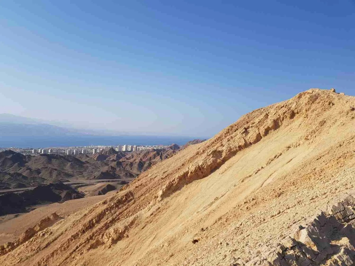 The White Mountain: A Beautiful Viewpoint Over Eilat