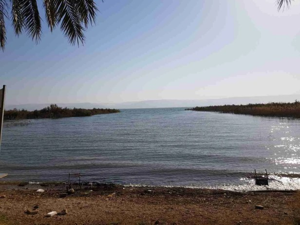 Sea of Galilee beach