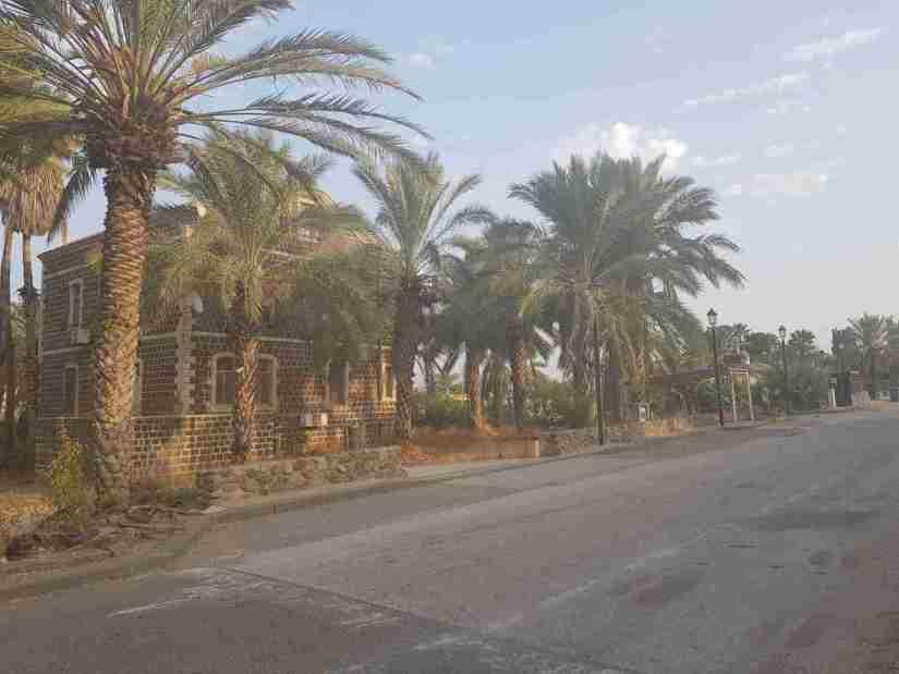 The Founders Street in the moshava Kinneret