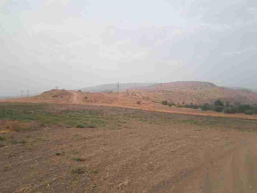 Hiking on the Israel National Trail from Jordan River to Kfar Kisch