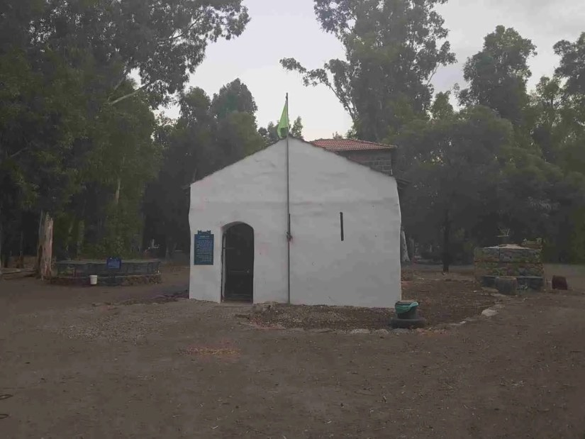 The Motor House near the Sea of Galilee on the Israel National Trail