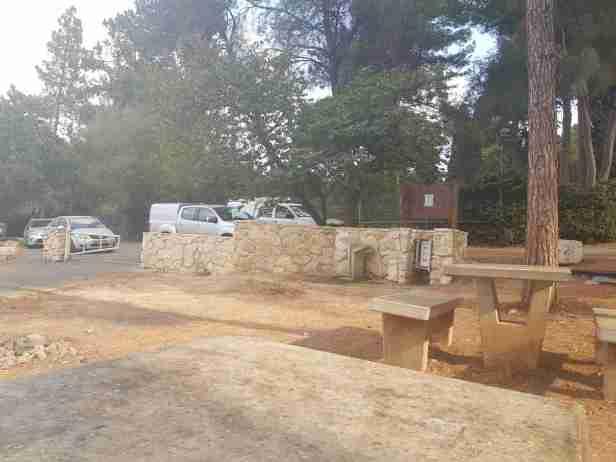 The Yagur Camping area