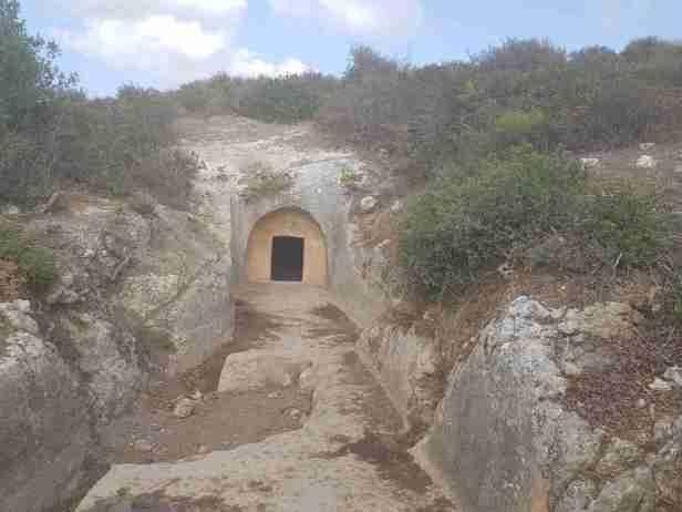 Burial Cave in Horvat Rakit