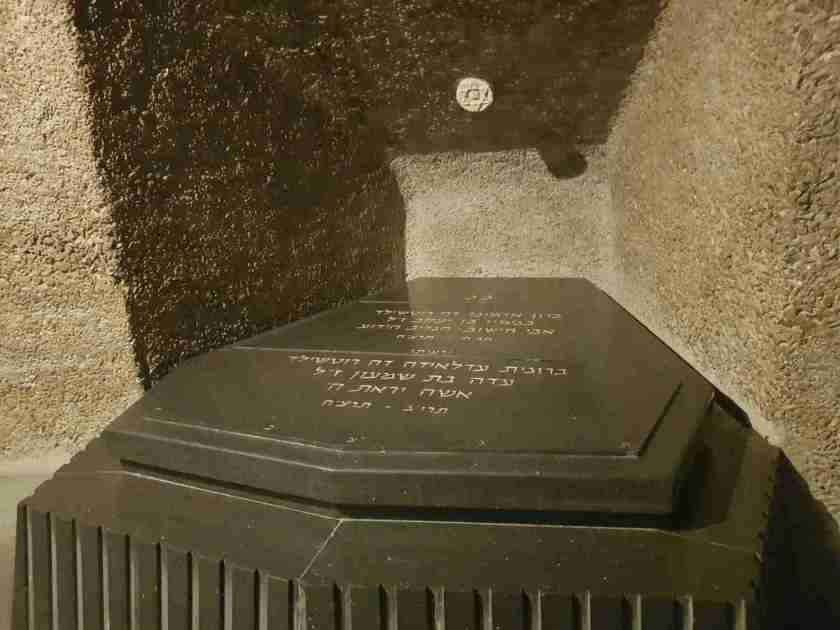 The Rothschild Crypt in Ramat Hanadiv