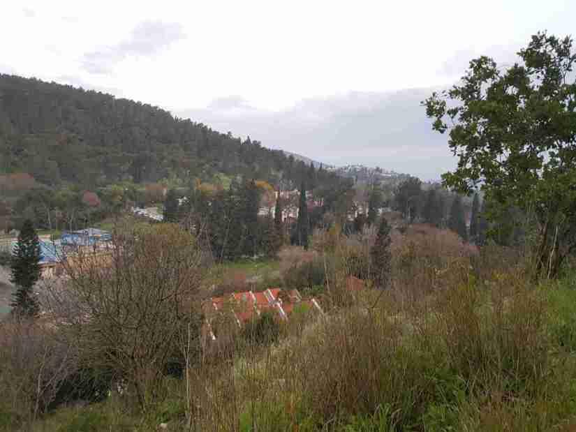 Hazorea from above