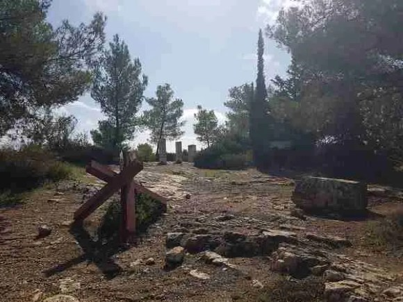 The Palmach Memorial on the Israel National Trail