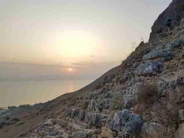 Mount Arbel on the Israel National Trail
