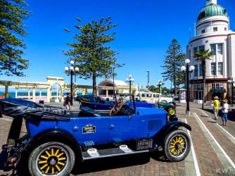 Old cars in Napier