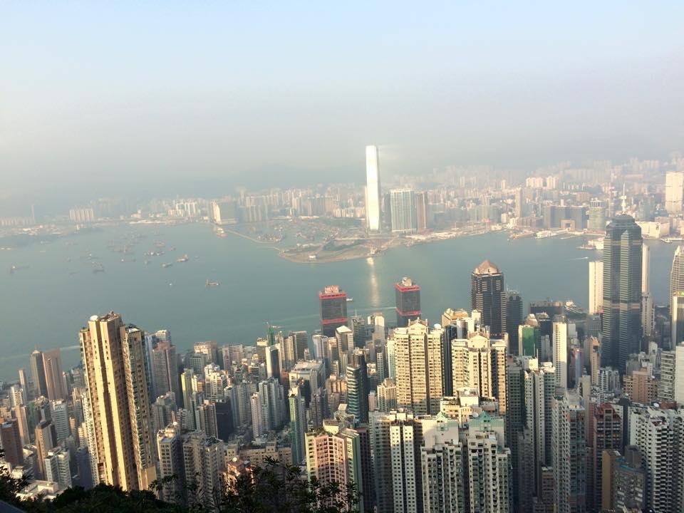 Backpacking in Hong Kong