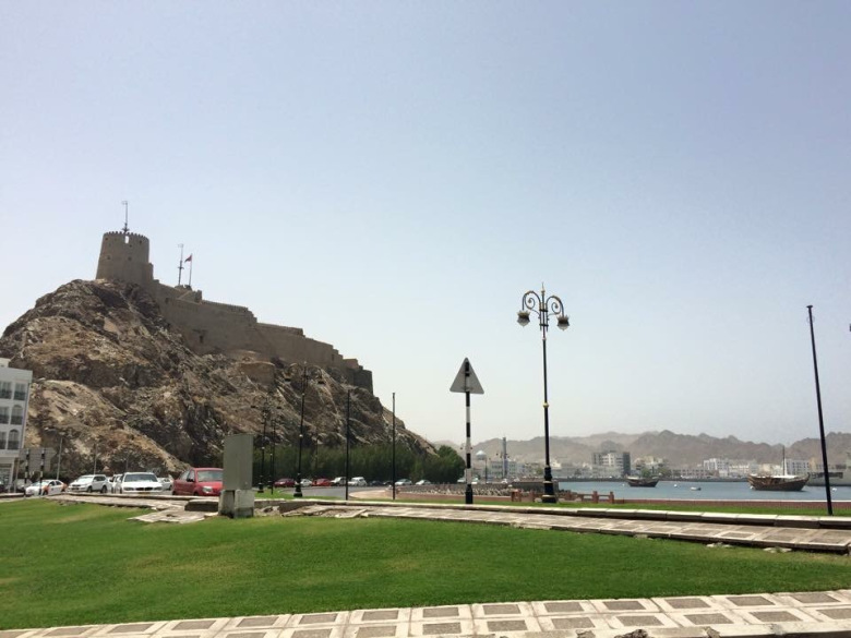 Backpacking in Oman