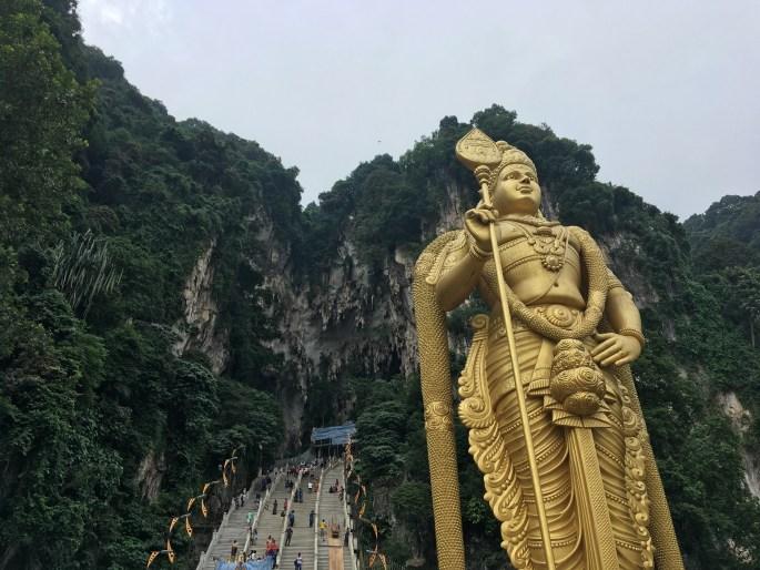 Batu Caves Backpacking in Malaysia